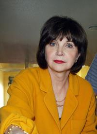 Cindy Williams at the annual Thanksgiving dinner, funded by The Mark Wahlberg Youth Foundation.