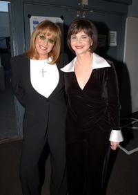 Penny Marshall and Cindy Williams at the TV Land Awards 2003.
