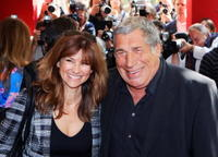 Florence Pernel and Jean-Pierre Castaldi at the presentation of the French TV channel's TF1 upcoming season programs.