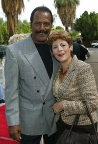 Fred Williamson and his wife at the Palm Springs International Film Festival.
