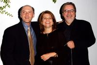 Dan Castellaneta, Deb Lacusta and Matt Groening at the British Comedy Awards 2005.