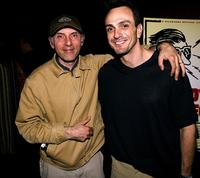 Dan Castellaneta and Hank Azaria pose before the screening of