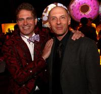 Dan Castellaneta and David Silverman at the after party for