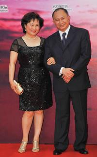 Annie Woo and John Woo at the 28th Hong Kong Film Awards 2009.