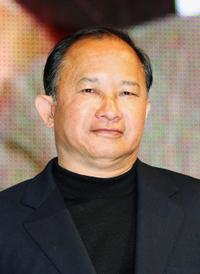 John Woo at the Tokyo International Anime Fair.