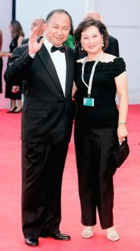 John Woo and Annie Woo at the 62nd Venice Film Festival.