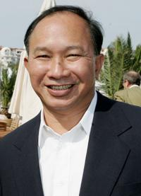 John Woo at the 58th International Cannes Film Festival.