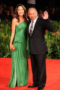 Michele Yeoh and John Woo at the 67th Venice Film Festival.