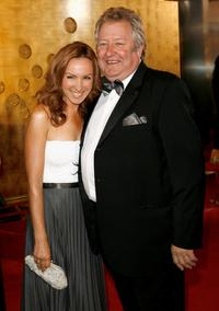 John Wood and Lisa McCune at the 2007 TV Week Logie Awards.