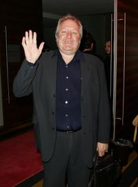 John Wood at the opening night of the music production of