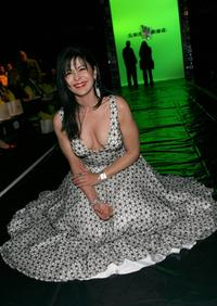 Maria Conchita Alonso at the Sue Wong Fall 2007 fashion show during Mercedes Benz Fashion Week.