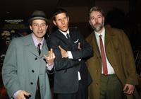 Adam Horovitz, Mike Diamond and Adam Yauch at the premiere of