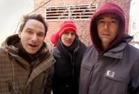 Adam Horovitz, Mike Diamond and Adam Yauch at the 2006 Sundance Film Festival.