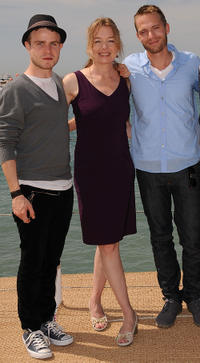 Brady Corbet, Karen Young and David Call at the photocall of