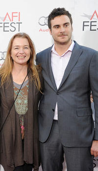 Karen Young and producer Andrew Renzi at the AFI FEST 2010 in California.