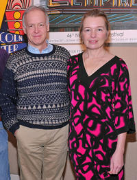 Reed Birney and Karen Young at the sneak preview of