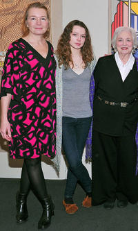 Karen Young, Portia Reiners and Rebecca Schull at the sneak preview of