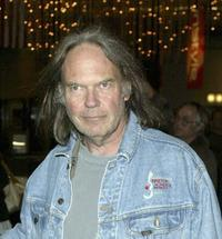 Neil Young at the Los Angeles Film Festival special screening of