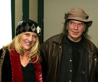 Pegi Young and Neil Young at the 3rd Annual Film Comment Selects special screening and reception of