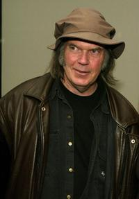 Neil Young at the 3rd Annual Film Comment Selects special screening and reception of