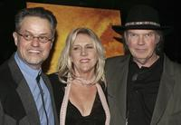 Jonathan Demme, Peggy Young and Neil Young at the premiere of