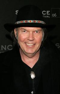 Neil Young at the