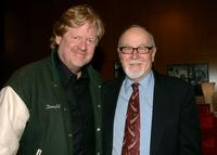 Gilbert Cates and Donald Petrie at the 11th annual City Of Lights, City Of Angels French Film Festival - reception.