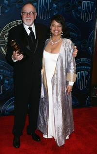 Gilbert Cates and Debbie Allen at the American Society of Cinematographers 19th Annual Outstanding Achievement Awards.