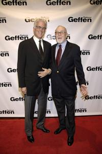 Gilbert Cates and Ted Danson at the premiere of David Mamet's play