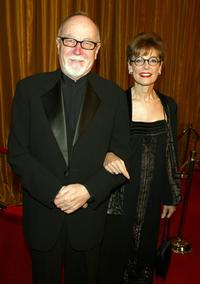 Gilbert Cates and wife Dr. Judith Reichman at the 57th Annual DGA Awards Dinner.