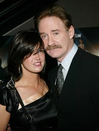 Phoebe Cates and her husband Kevin Kline at the New York Premiere of
