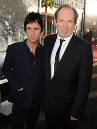 Musician Johnny Marr and Hans Zimmer at the premiere of
