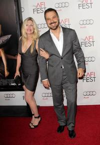 Liberty Godshall and Edward Zwick at the Opening Night Gala of
