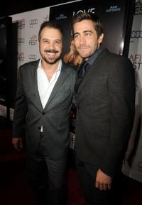 Edward Zwick and Jake Gyllenhaal at the Opening Night Gala of
