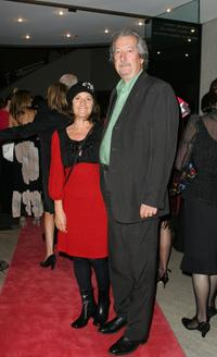 Helen Esakoff and Michael Caton at the opening night of the music production of