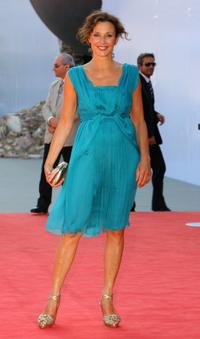Valeria Cavalli at the premiere of