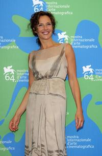 Valeria Cavalli at the photocall of
