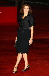 Valeria Cavalli at the Closing Ceremony during the 3rd Rome International Film Festival.
