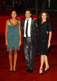 Margot Dufrene, Georges Corraface and Valeria Cavalli at the Closing Ceremony during the 3rd Rome International Film Festival.