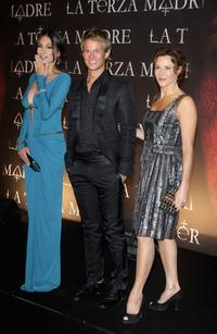 Moran Atias, Paulo Stella and Valeria Cavalli at the 2nd Rome Film Festival.