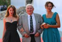 Ludivine Sagnier, Claude Chabrol and Valeria Cavalli at the premiere of