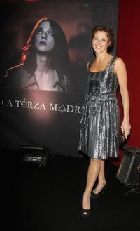 Valeria Cavalli at the Black Carpet of