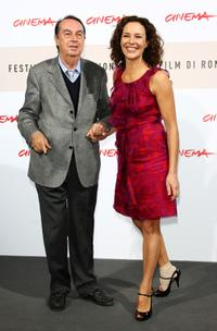Maurizio Scaparro and Valeria Cavalli at the photocall of