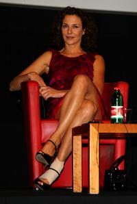 Valeria Cavalli at the press conference of