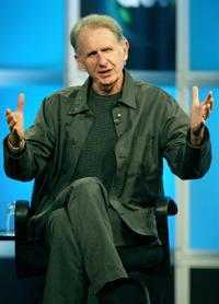 Rene Auberjonois at the panel discussion for