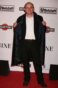 Giuseppe Cederna at the Rome premiere of
