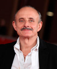 Giuseppe Cederna at the premiere of