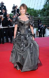 Clementine Celarie at the 62nd International Cannes Film Festival.
