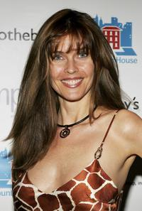 Carol Alt at the auction of photographer Francesco Scavullo's work benefiting Fountain House.