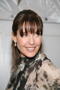 Carol Alt at the W VIP lounge during the Mercedes Benz Fashion Week.